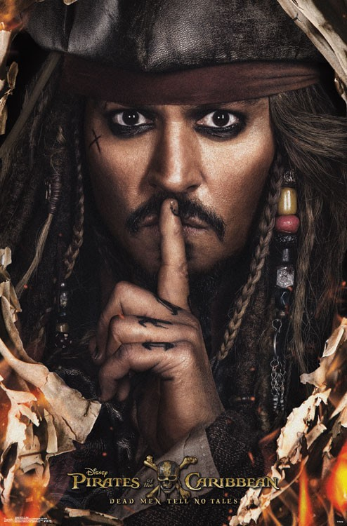 Pirates of the Caribbean 5: New pictures with main characters
