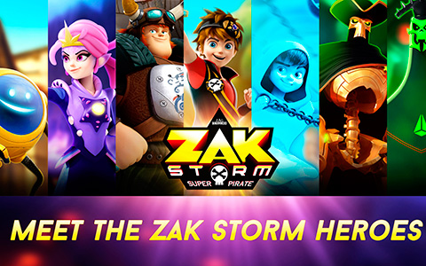 Zak Storm: Super Pirate - meet the heroes