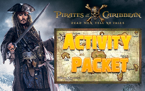 Pirates Of The Caribbean 5: Activity Packet