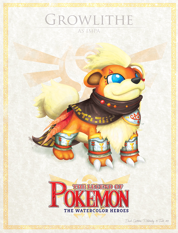 Growlithe as Impa