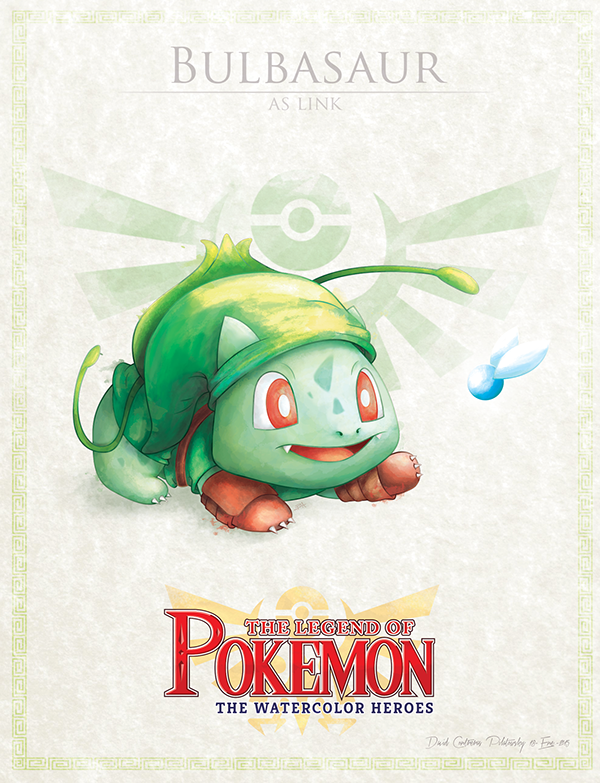 Bulbasaur as Link