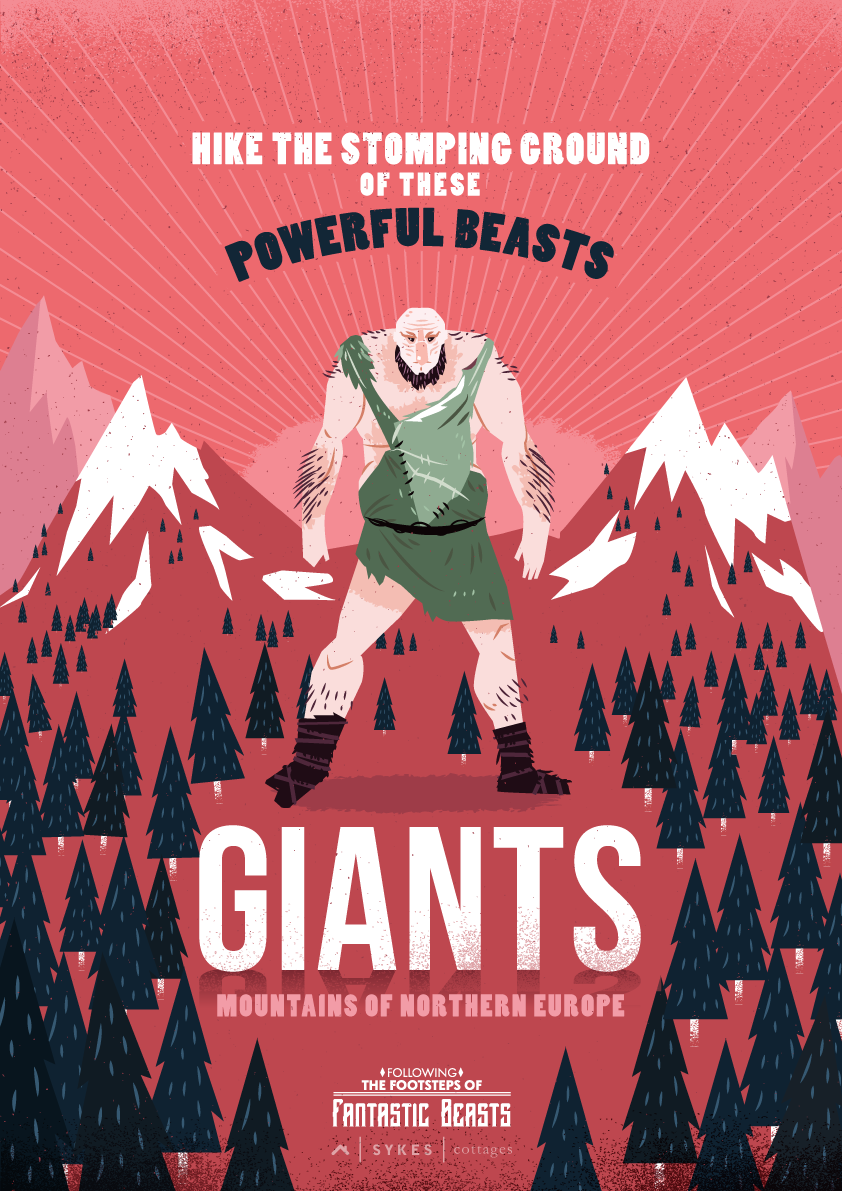 Giants Fantastic Beasts poster
