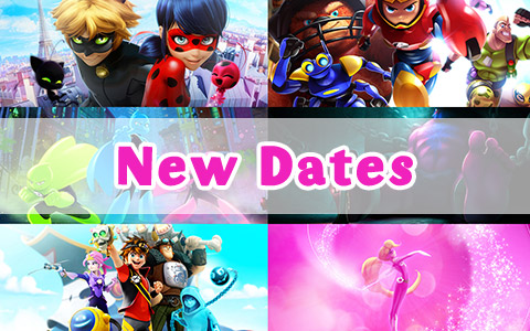Changes in release dates for Zag projects