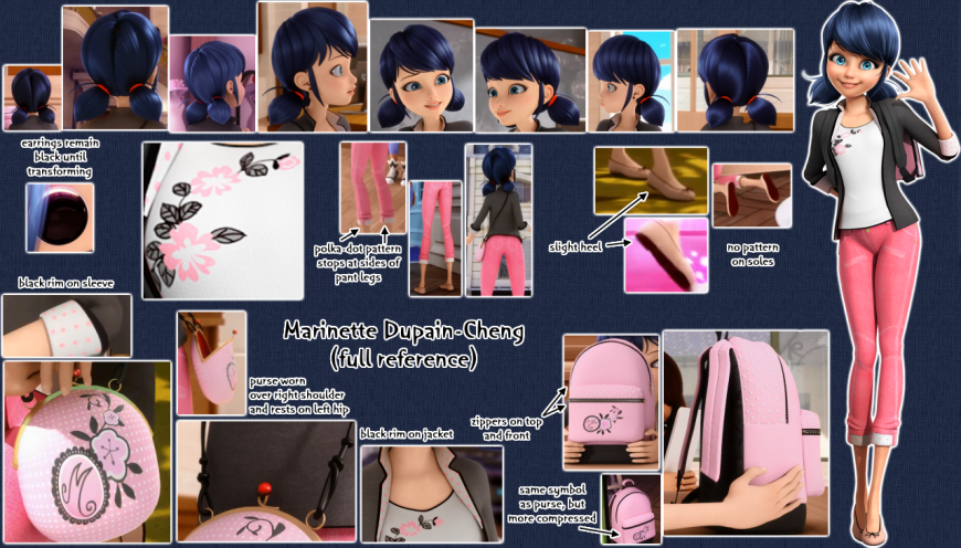 Marinette Dupain-Cheng reference