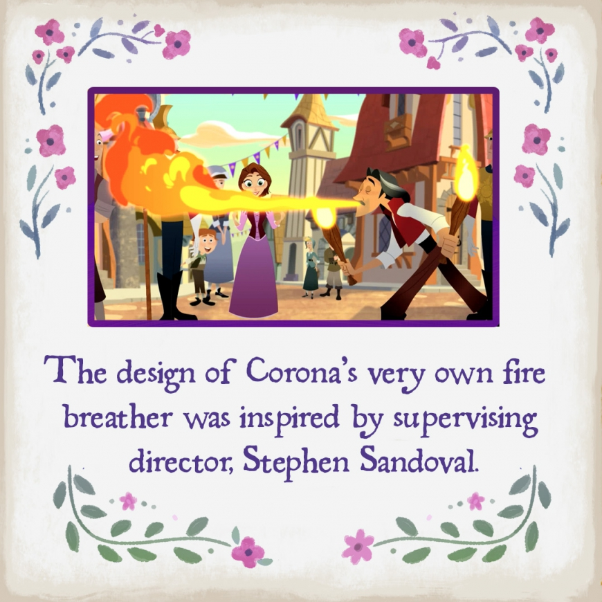 Cool facts about Tangled the series