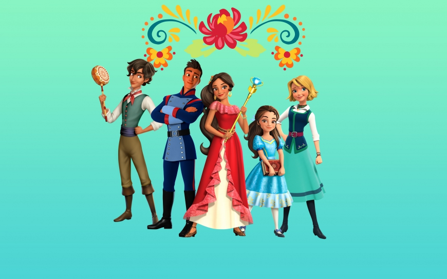Elena of Avalor main characters wallpaper