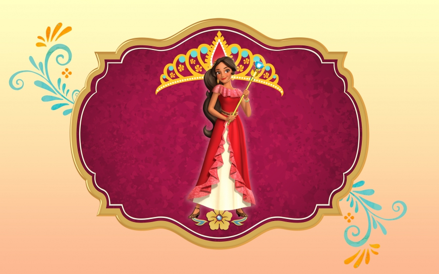 Elena of Avalor big wallpaper