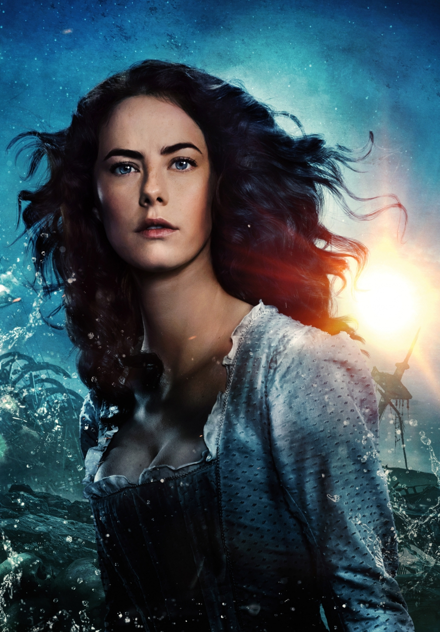 Pirates of the Caribbean 5 Carina Smyth big poster