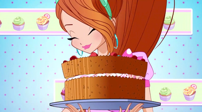 World of Winx - Winx with cakes