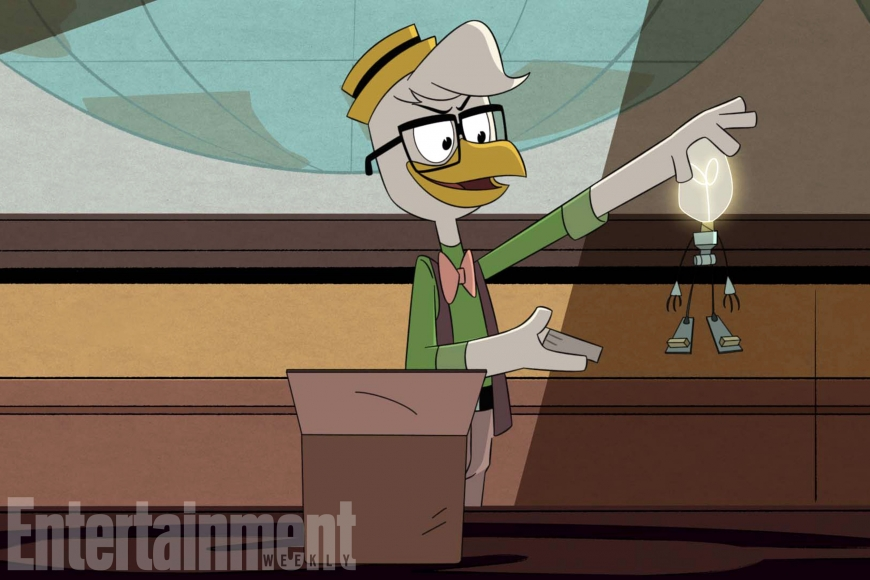 New DuckTales Gyro Gearloose
