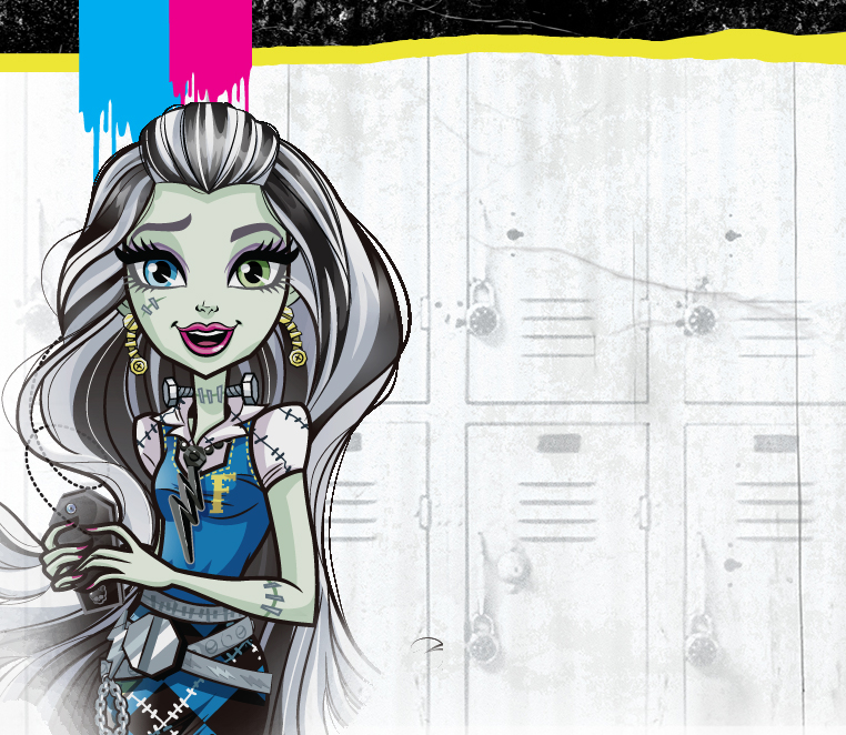 Monster High Moanica D'kay new artwork
