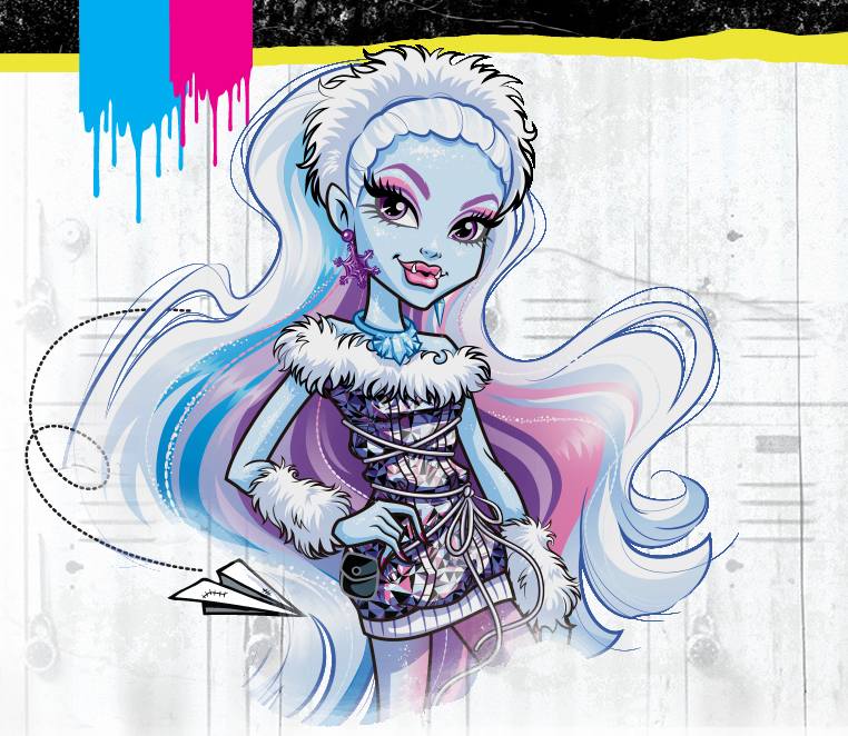 Monster High Abbey Bominable new artwork