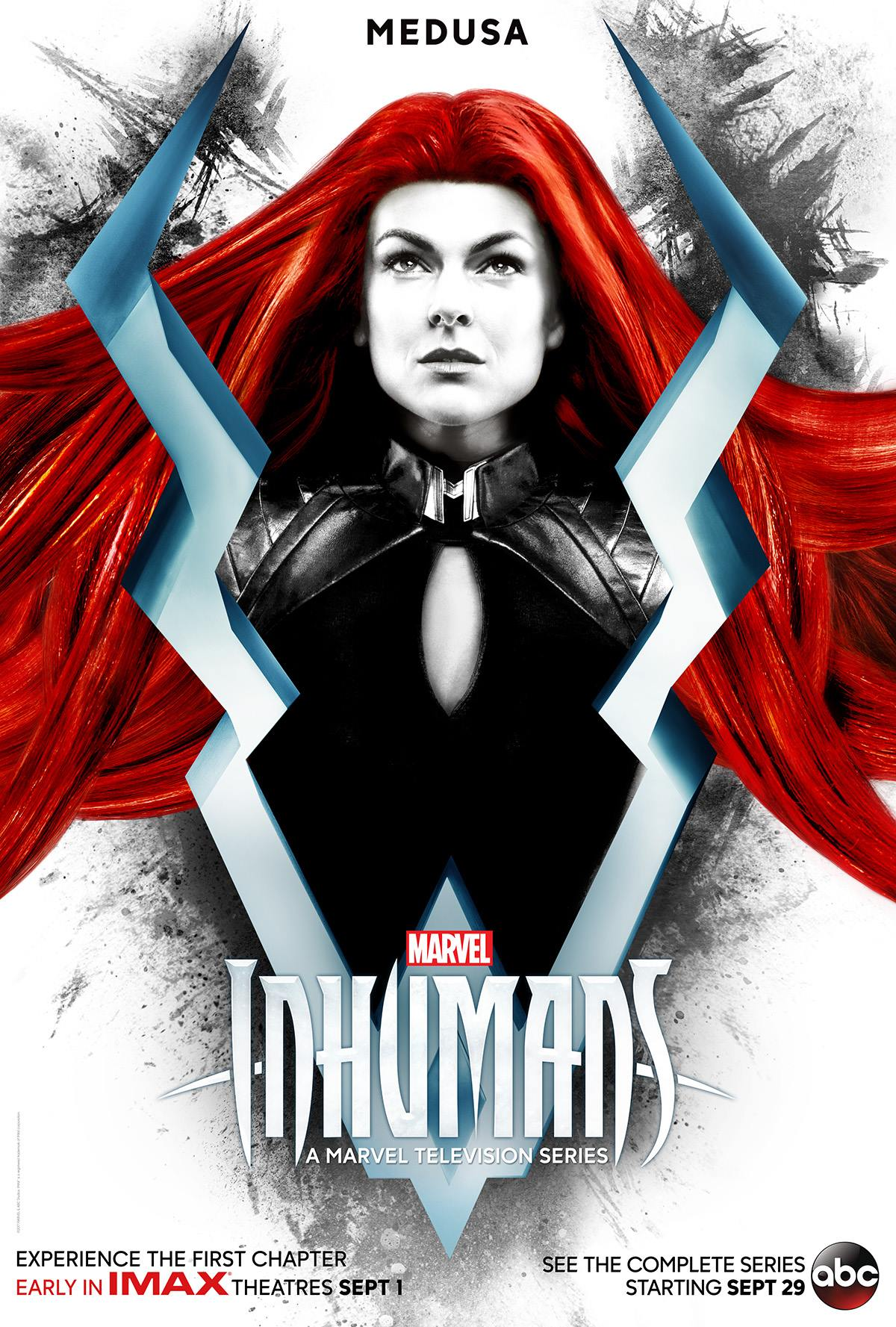 Marvel S Jessica Jones Janet Mcteer White Queen Joins: First Character Posters Of Marvel's Inhumans