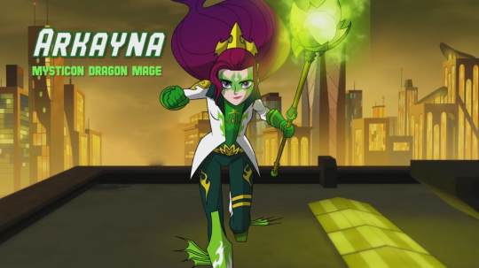 Mysticons - new girls action show series