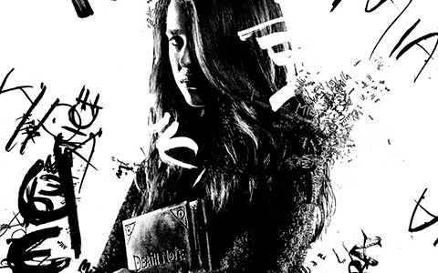 New Death Note movie poster and snippet