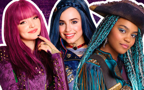 Descendants 2: New full size images of main characters