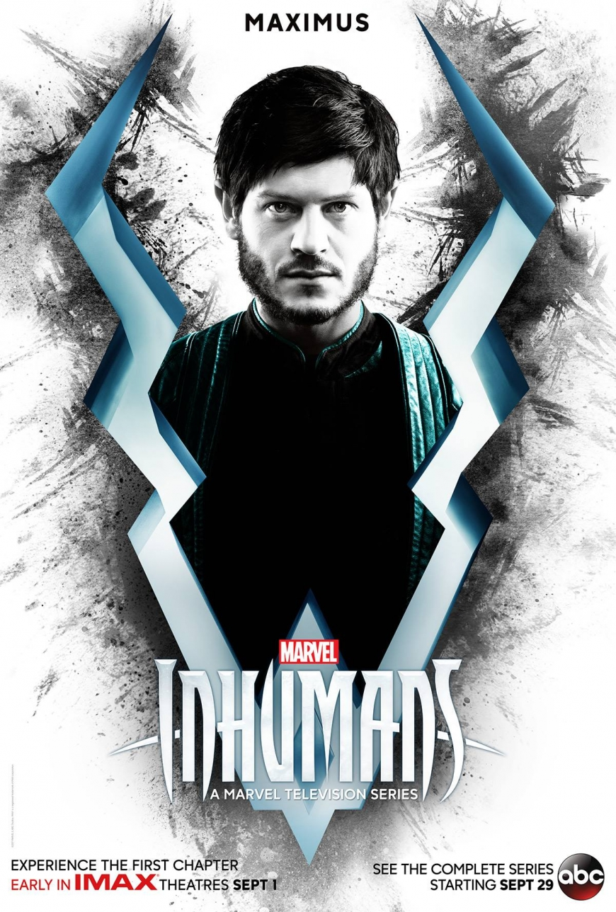 First character posters of Marvel's Inhumans