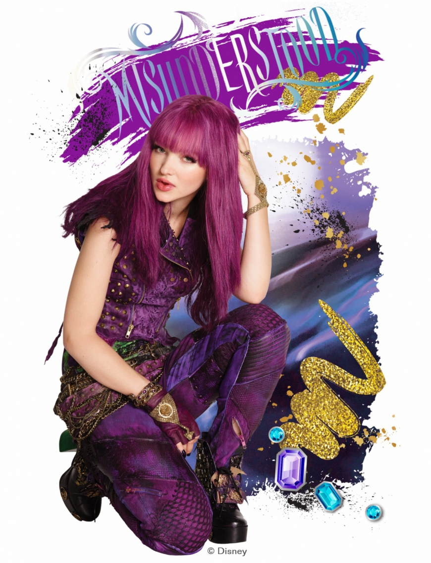 Disney Descendants 2 Mal hd high quality picture