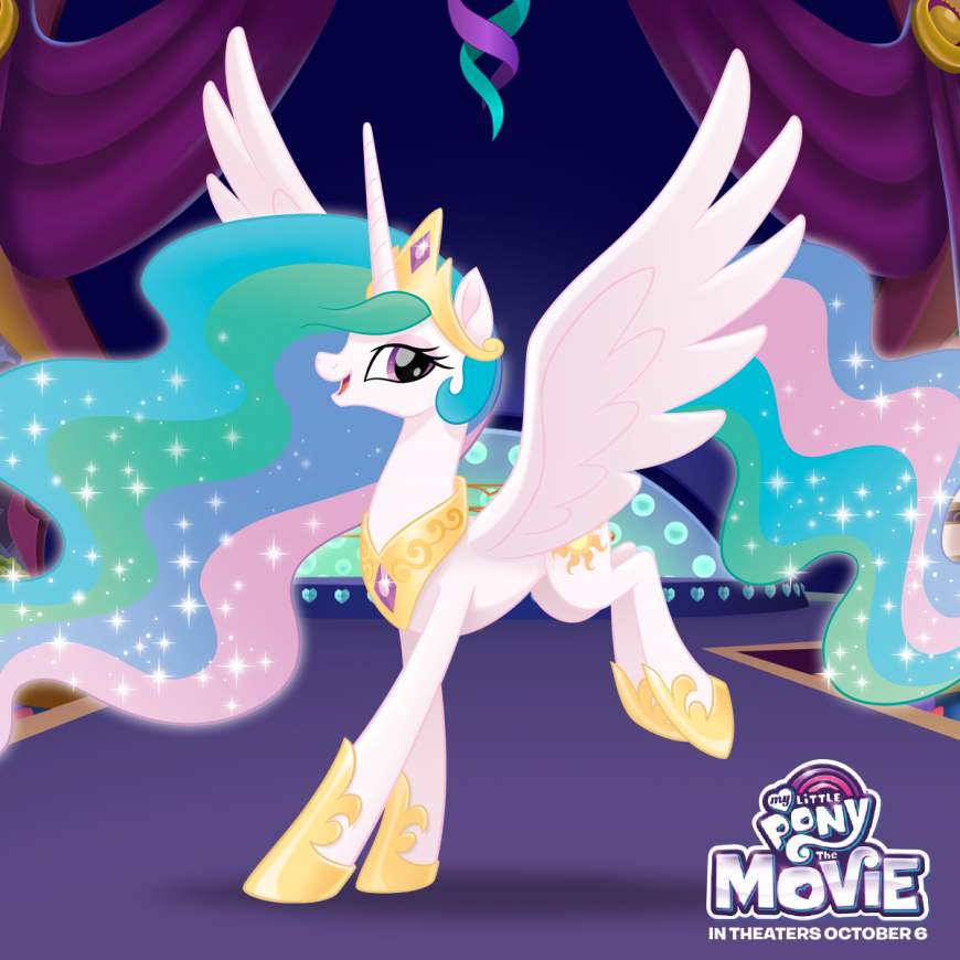 My Little Pony The Movie princess Celestia