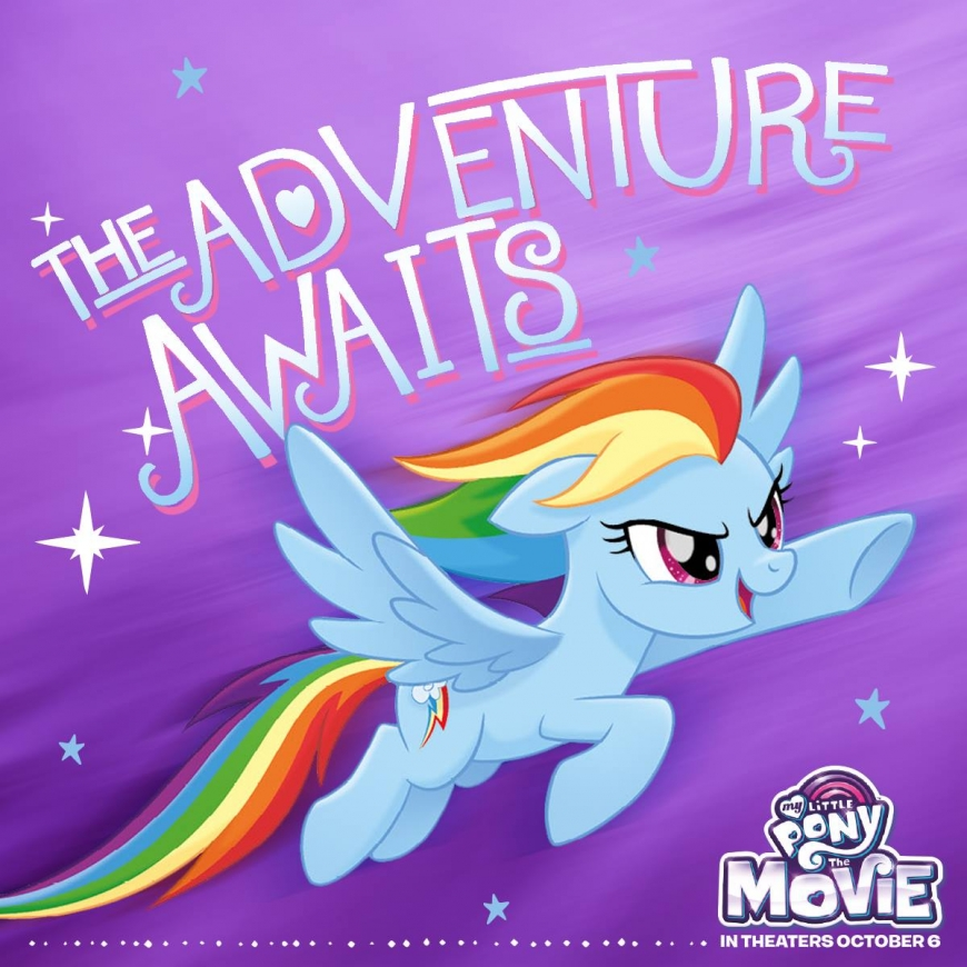 My Little Pony The Movie Rainbowdash
