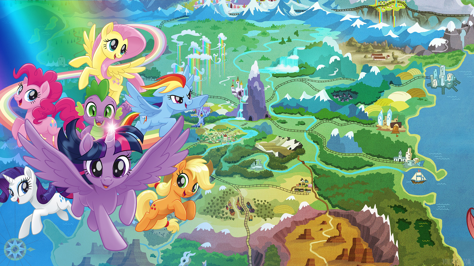 My Little Pony The Movie wallpapers - YouLoveIt.com