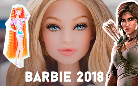Big Barbie dolls news 2018: Barbie Gigi Hadid, Totally Hair Readhead, Lara Croft  and more