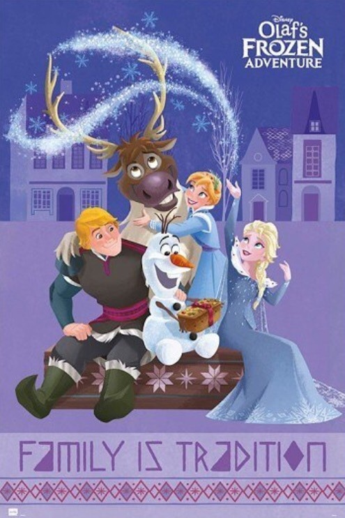 Olaf's Frozen Adventure Famili is tradition