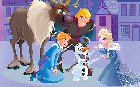 Disney Frozen: New official pictures for 2017-2018, including some Olaf's Frozen Adventure images