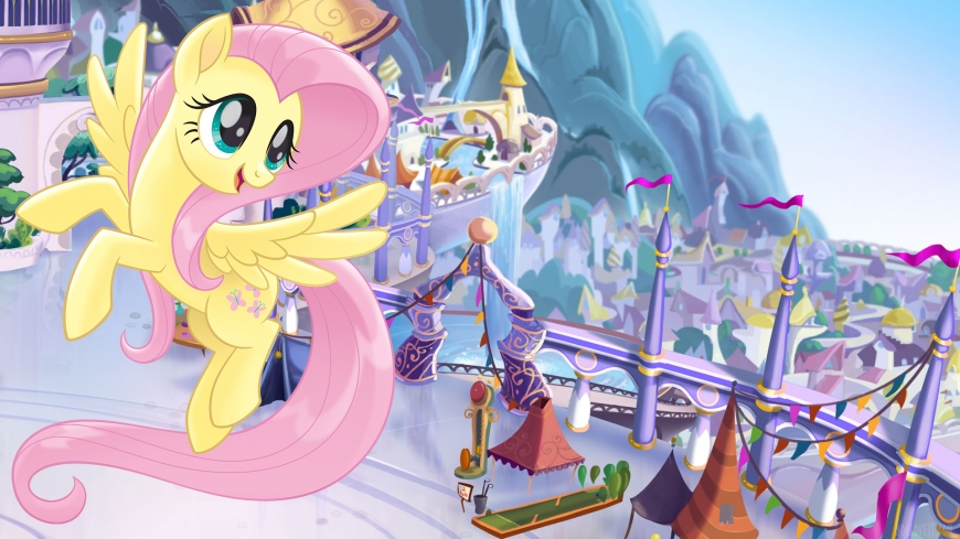 My Little Pony The Movie wallpaper Fluttershy
