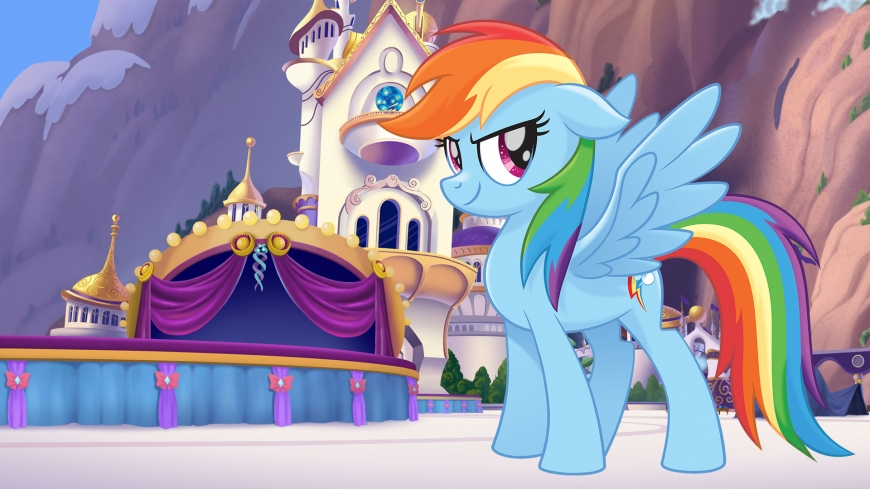 My Little Pony The Movie wallpaper Rainbow Dash