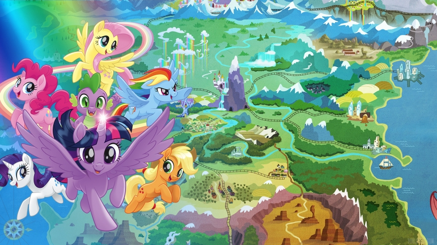 My Little Pony The Movie wallpaper with ponies