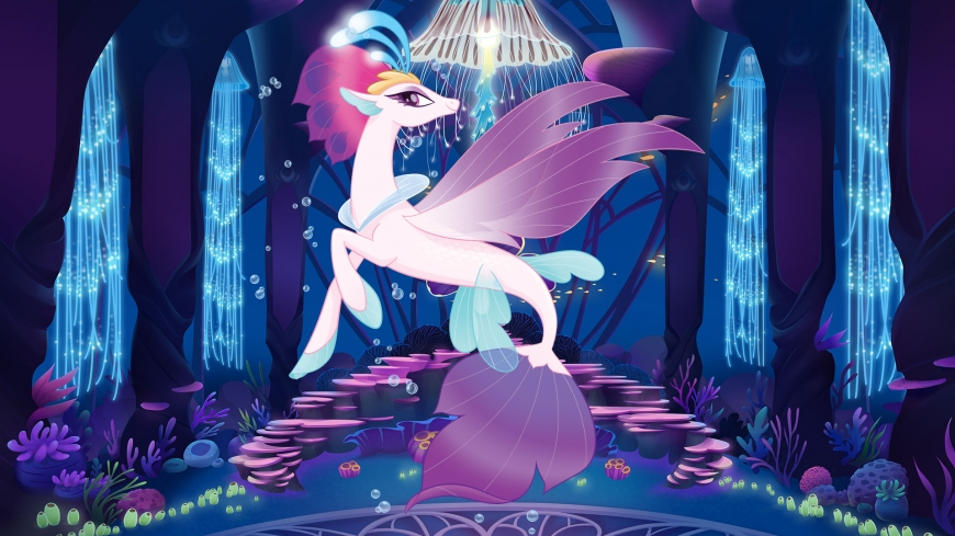 My Little Pony The Movie wallpaper Queen Novo