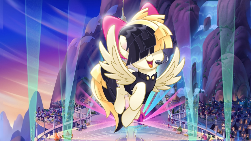 My Little Pony The Movie wallpaper Songbird Serenade