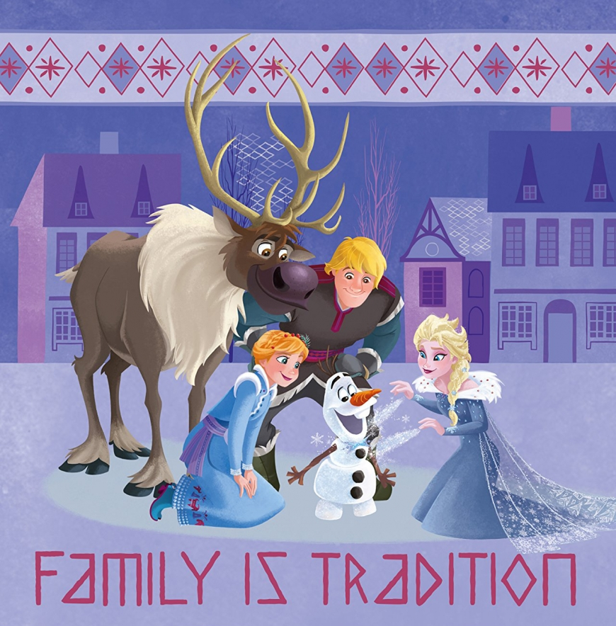 Olaf's Frozen Adventure new picture of Elsa, Anna, Kristoff and Olaf
