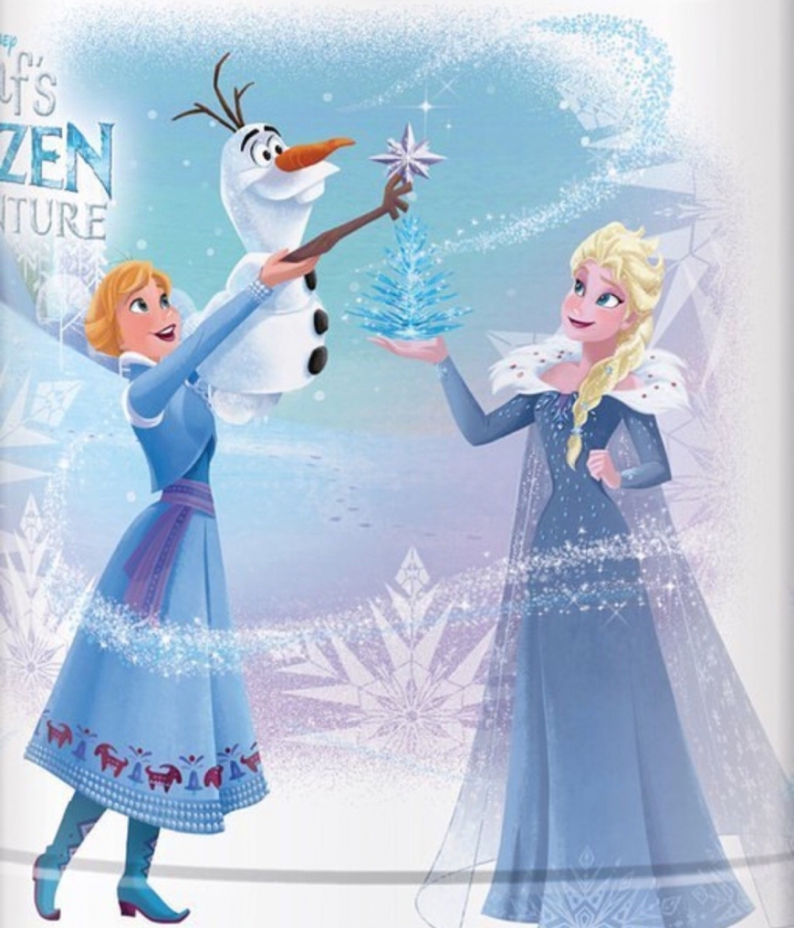 Olaf's Frozen Adventure Elsa and Anna