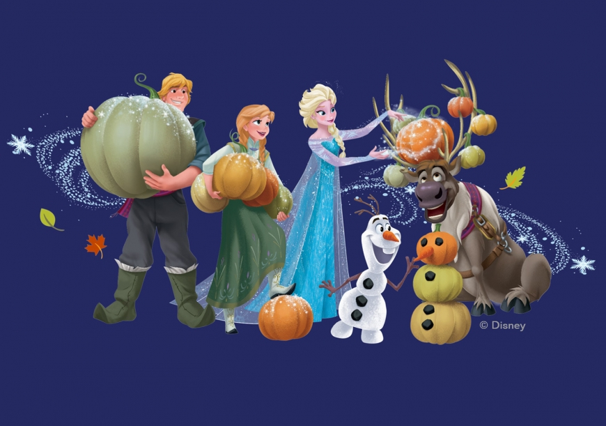 Frozen Disney Halloween picture