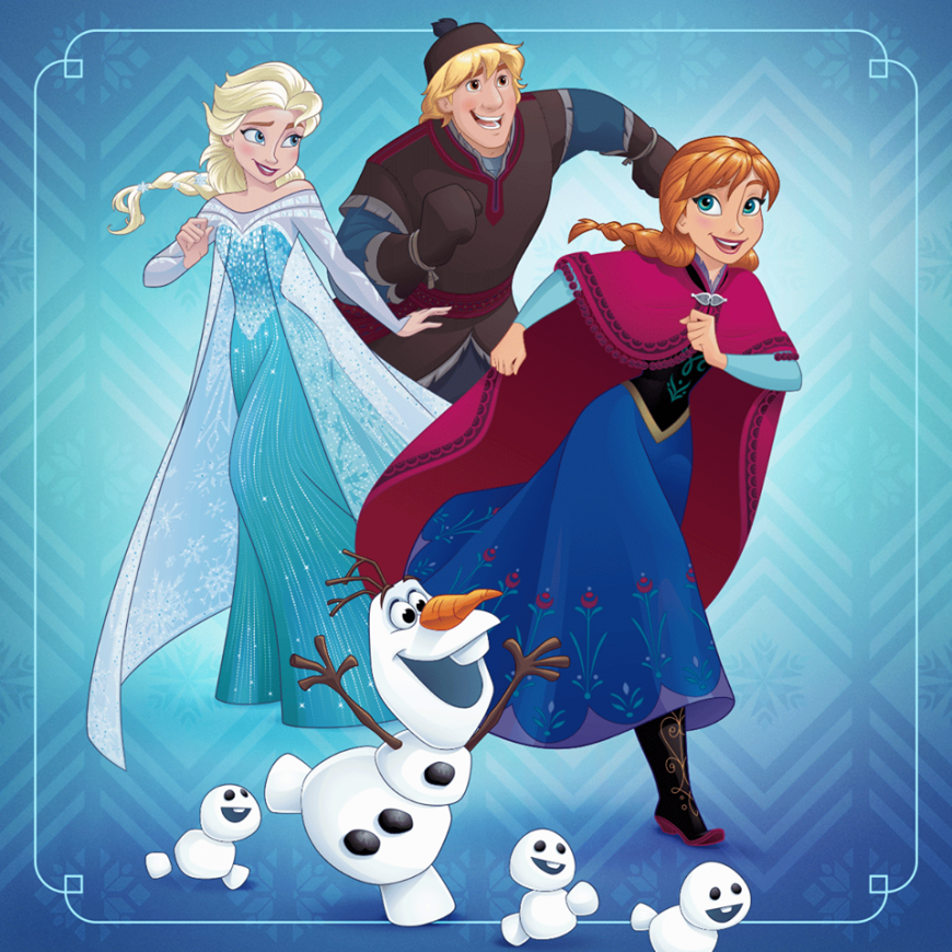 Frozen Disney new official picture 2017