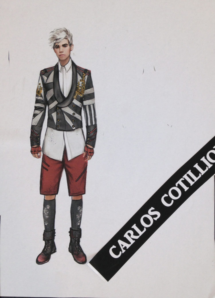 Disney Descendants 2 Carlos cotillion look design