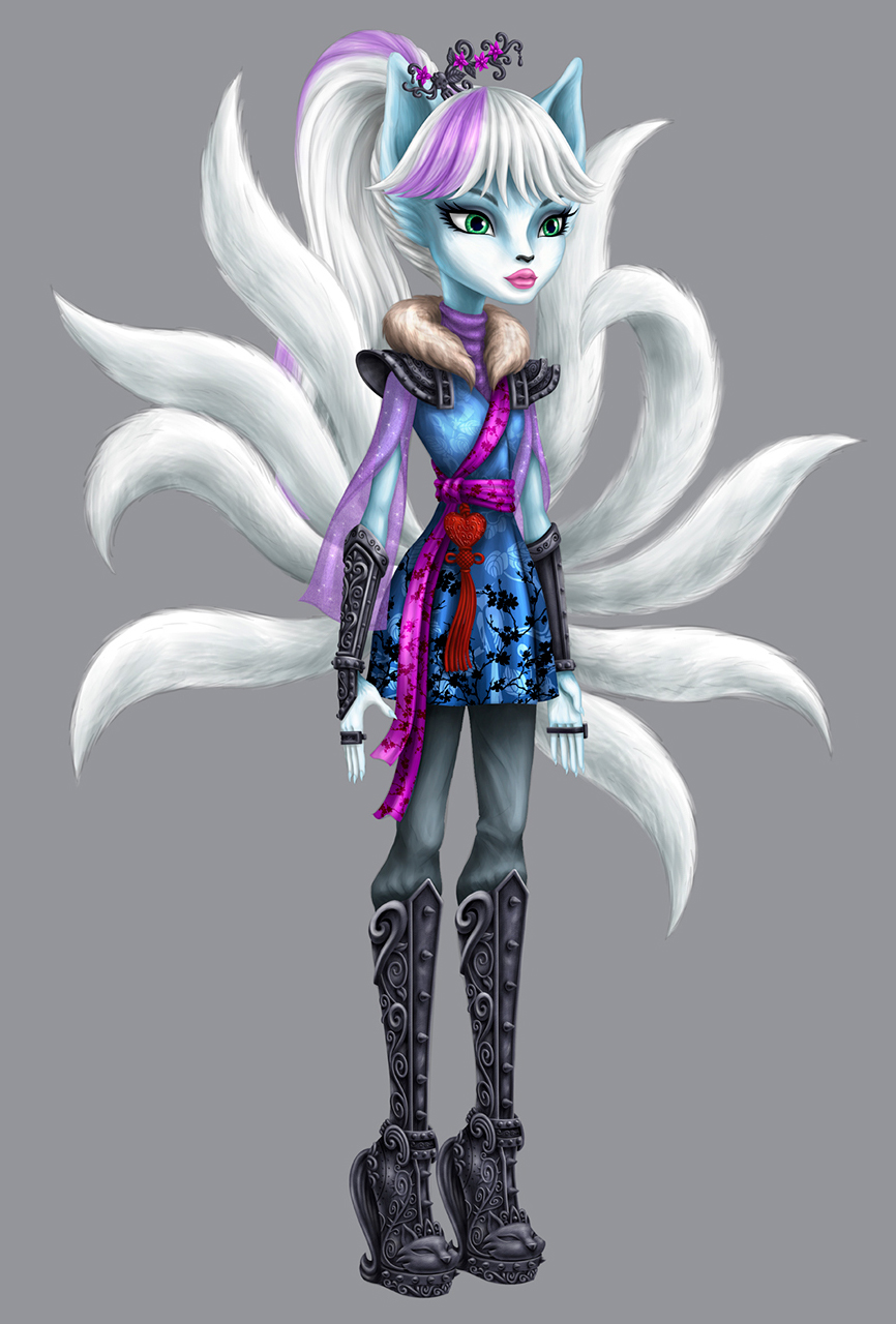 Monster High Euna nine tailed fox