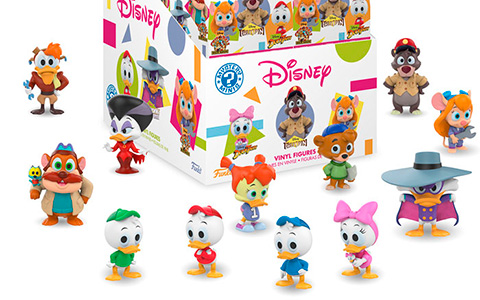 Want them all! Disney Afternoon Collection in Funko's Mystery Minis