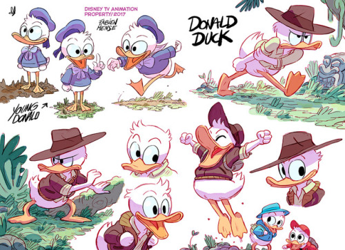 New Ducktales early designs