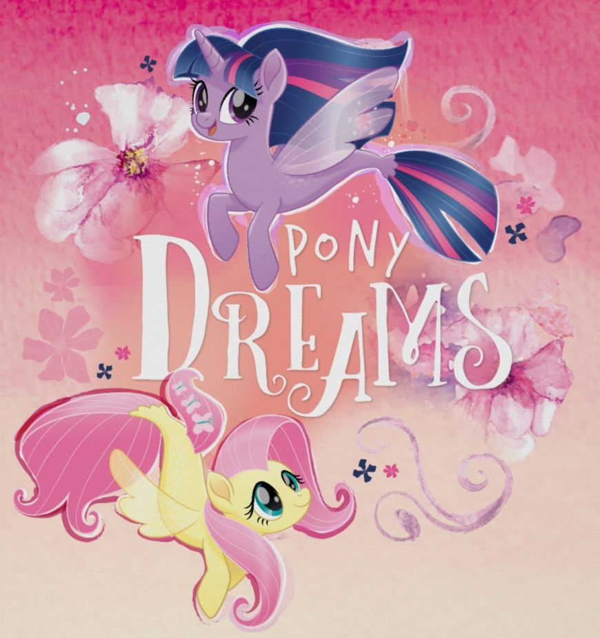 New pictures of Twilight Sparkle and Fluttershy in their mermaid form - My Little Pony The Movie