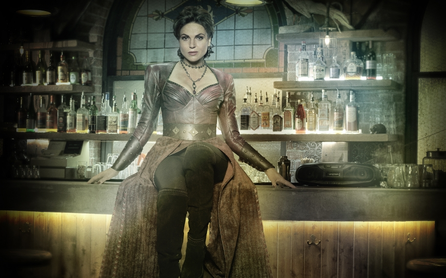 Once Upon a Time season 7 Wallpaper with Evil Queen - Roni