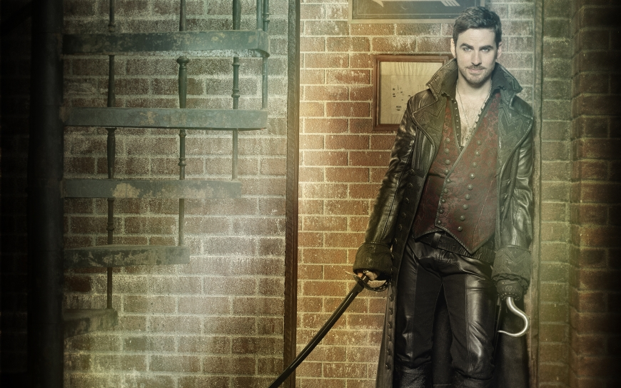 Once Upon a Time season 7 Wallpaper with Hook