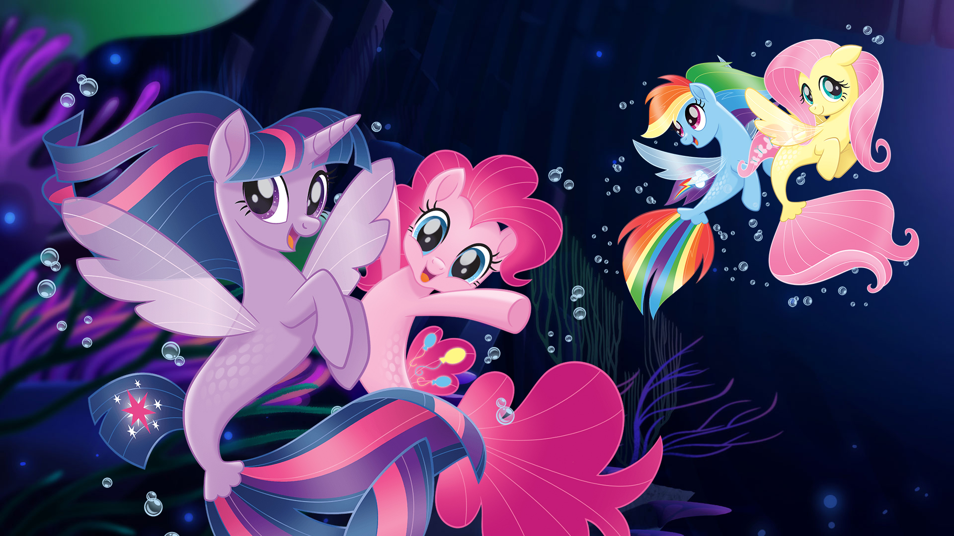 My Little Pony The Movie seaponies - mermaids wallpapers ...