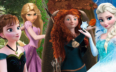 Quiz: Pick the princess that's most like you and we'll tell you which season are your