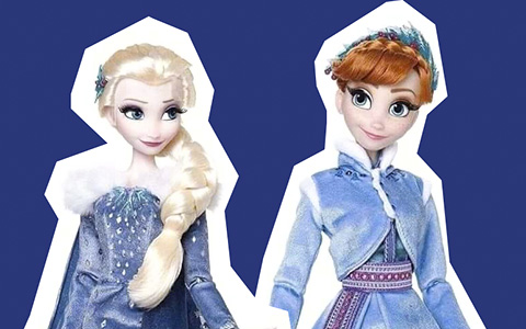 New Elsa and Anna Limited Edition dolls from Olaf's Frozen Adventure