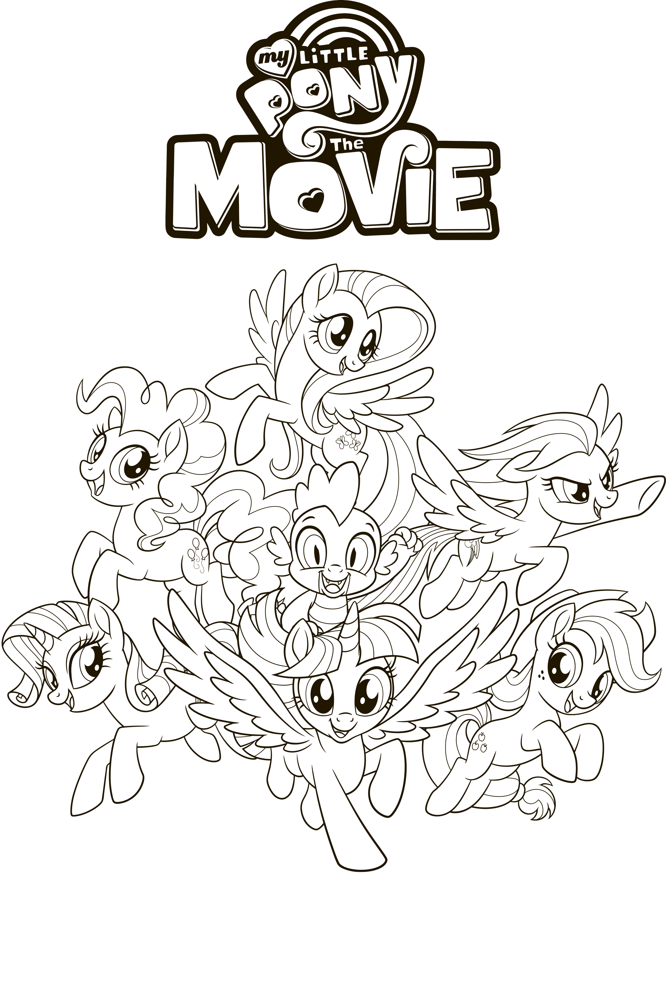 My Little Pony: The Movie coloring pages - YouLoveIt.com