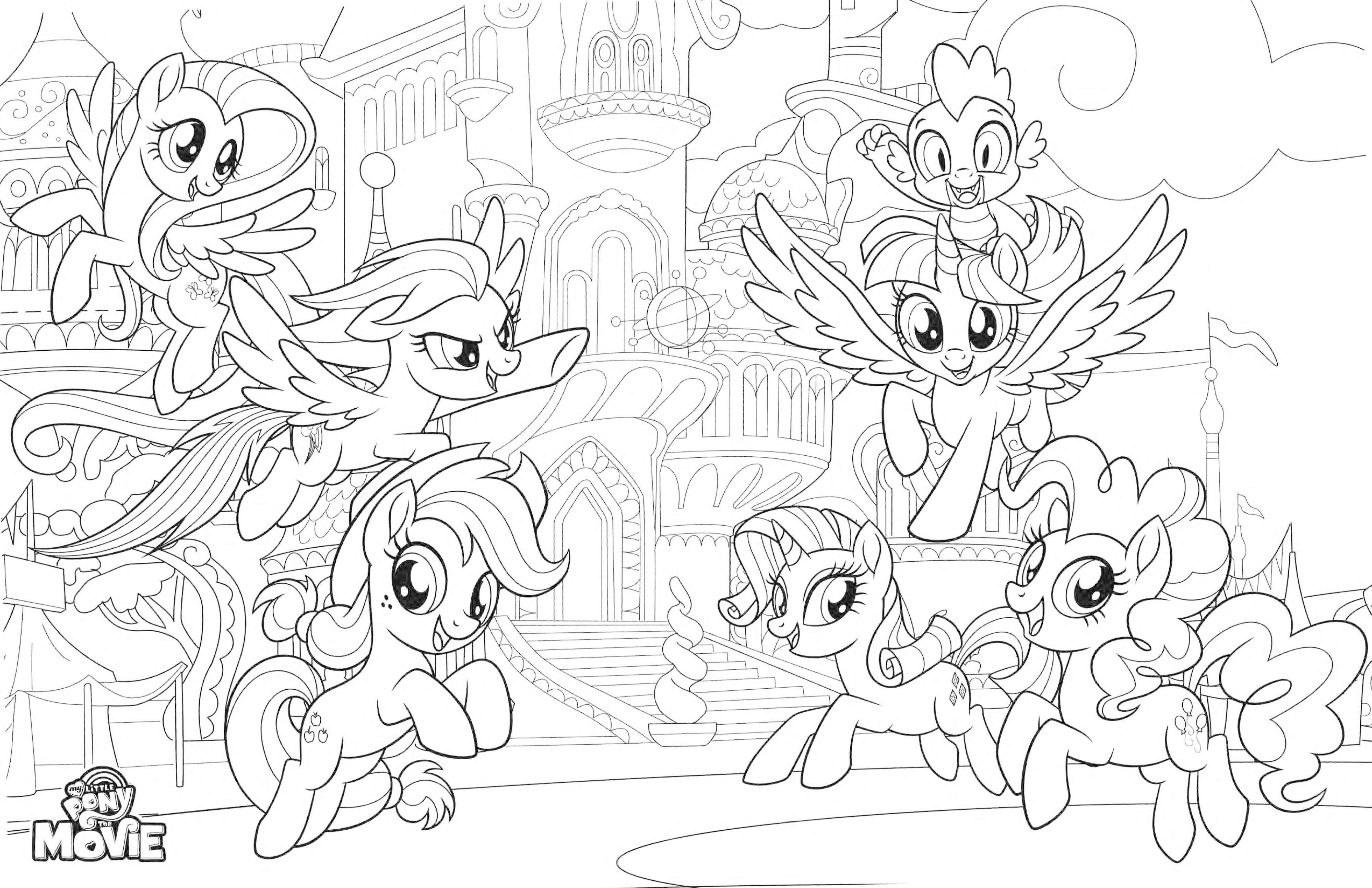 Coloring Pages Coloring Pages Applejack My Little Pony - Apple ... | 2588x4000