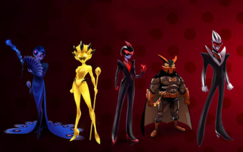 New villains from Miraculous: Tales of Ladybug & Cat Noir season 2